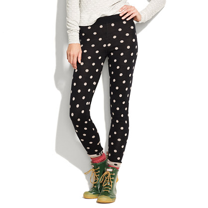 Spotted Sweater-Leggings