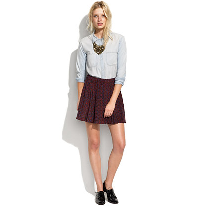 Paisley Parlour Skirt