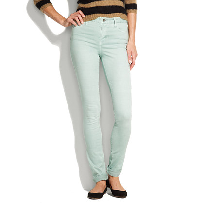High Riser Colorpop Jeans