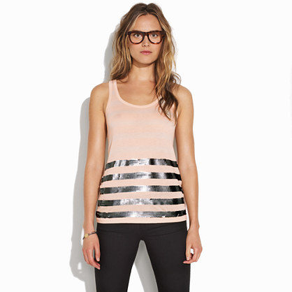 Speakeasy Stripe Tank