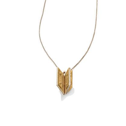 Pavé Arrowtip Pendant
