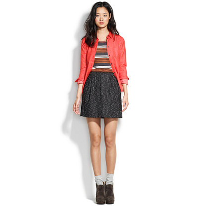 Tweed Belltoll Skirt