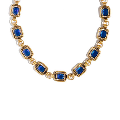 Bluestone Statement Necklace