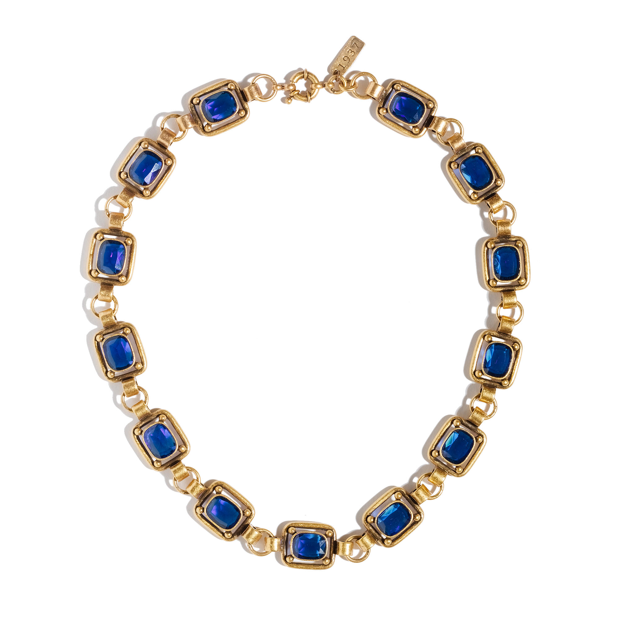 crystal img nancy with double women royal cobalt necklace product blue layer earring creations beads