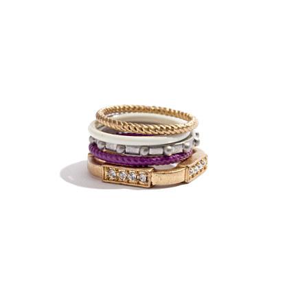 Colorwheel Ring Set
