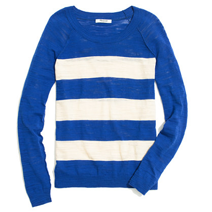 Wide-Stripe Sweater