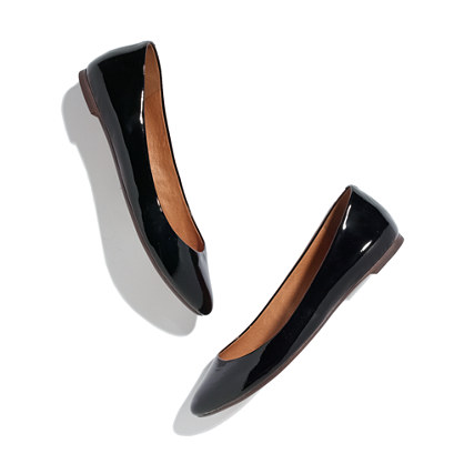 The Sidewalk Skimmer in Patent Leather