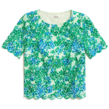 Painted Lacebloom Top