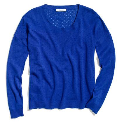 Studio Sweater in Pinhole
