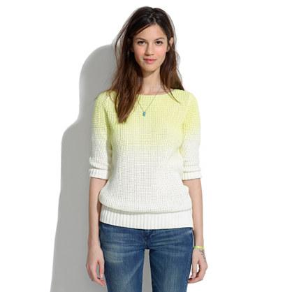 Neon Fade Sweater