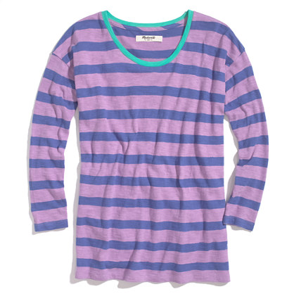 Long-Sleeve Tee in Stripe