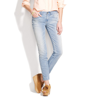 Skinny Skinny Ankle Jeans in Homestead Wash