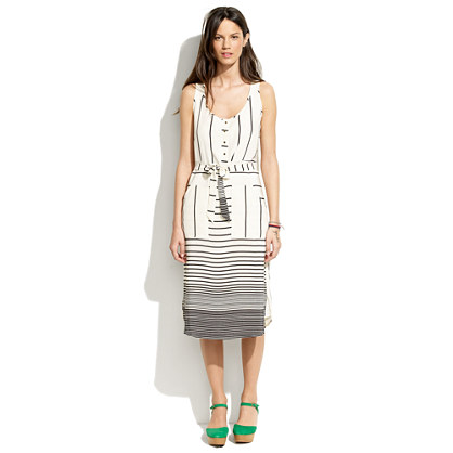 Striped Parklane Dress