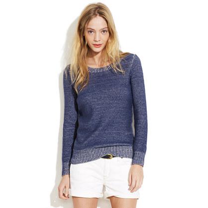 Indigo Ink Sweater