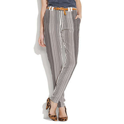 Pinstriper Silk Pants