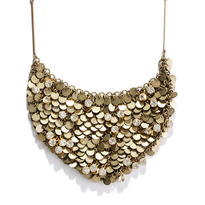 Moonlight Sparkle Bib Necklace