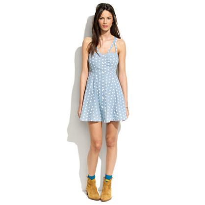 Something Else by Natalie Wood Dotty Bodice Dress