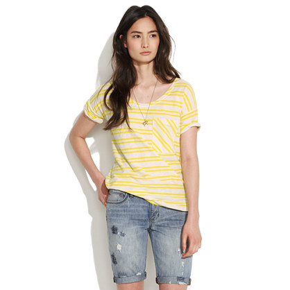 Striped Sunray Tee