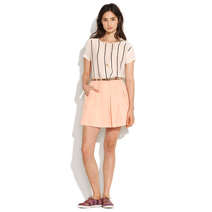 Kickpleat Skirt