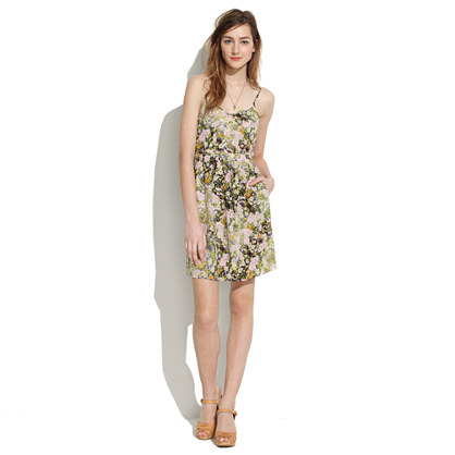 Silk Cami Dress in Sungarden