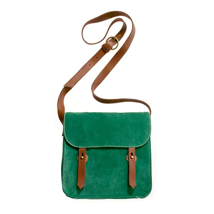 The Suede Mini Mailbag