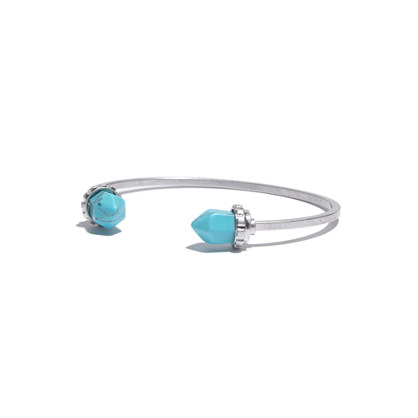 Stonedrop Cuff With Turquoise