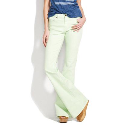 Flea Market Flare colorpop Jeans