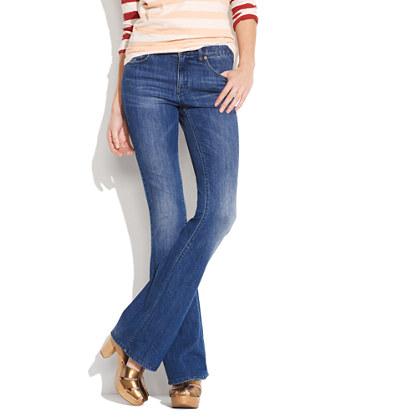 Flea Market Flare Jeans in Steelworker Wash