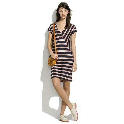 Striped Tee Dress