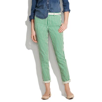 Bungalow Stripe Trousers