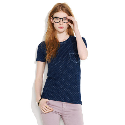 Indigo Ink Dot Tee