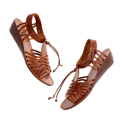 The Basket Weave Sandal