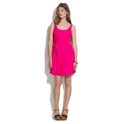 Silk Slideshow Dress