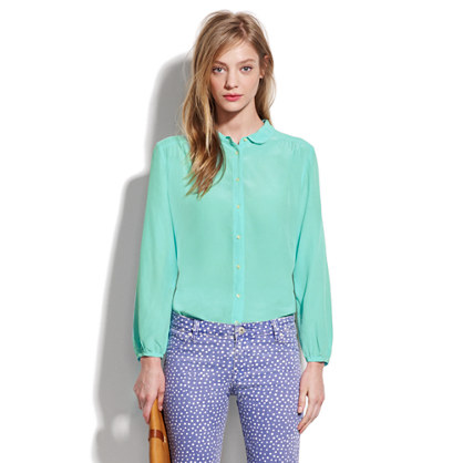 Silk Bookends Blouse