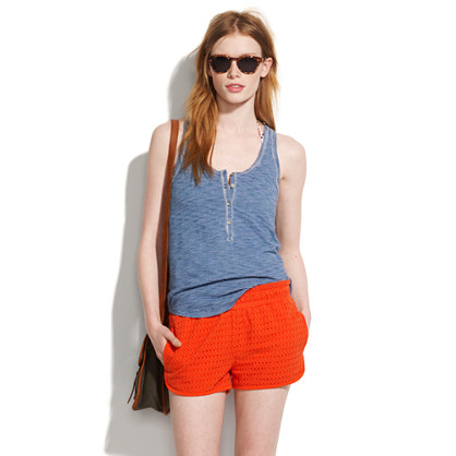 Seashell Eyelet Shorts