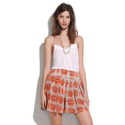 silk Shapesketch Shorts