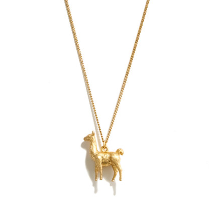 Llama Love Necklace
