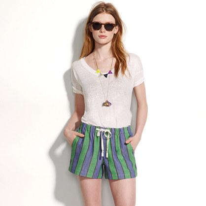 Sunwash Stripe Shorts