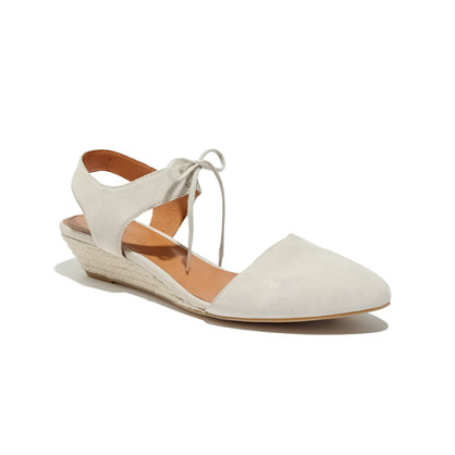 The Espadrille Mini Wedge