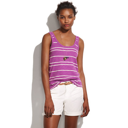 Striped Tagalong Tank