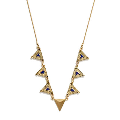 Pyramid Show Necklace