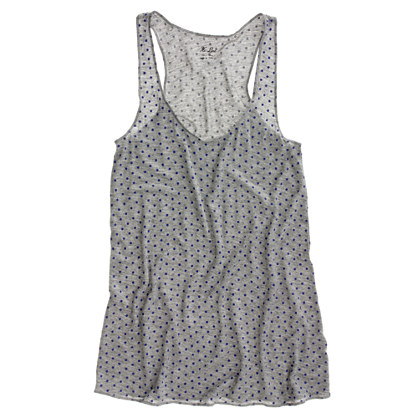 Dotted Perfect Racerback Tank
