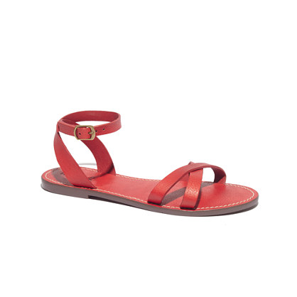The Crisscross Boardwalk Sandal
