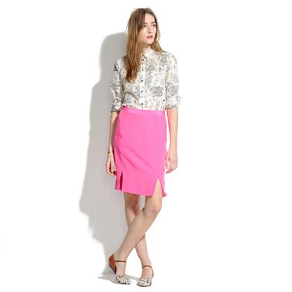 Neon Pencil Skirt
