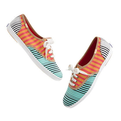 Keds® for Madewell Stripe Mix Sneakers