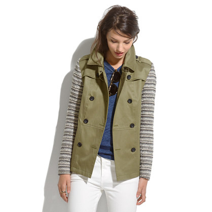 Crossweave-Sleeve Trench