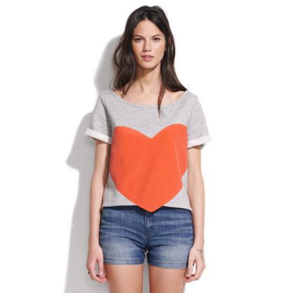 Laugh Cry Repeat™ Heart Sweatshirt