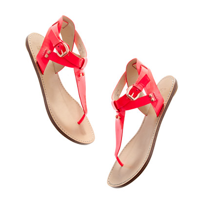 Belle by Sigerson Morrison® Randy neon Sandals