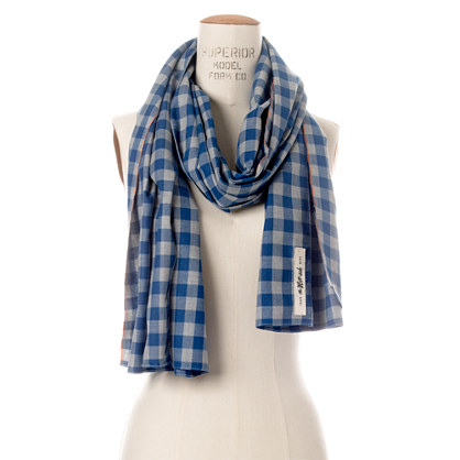 The Hill-side® Selvedge Gingham Scarf