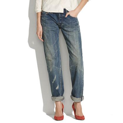 Chimala® Denim Straight-Leg Pants